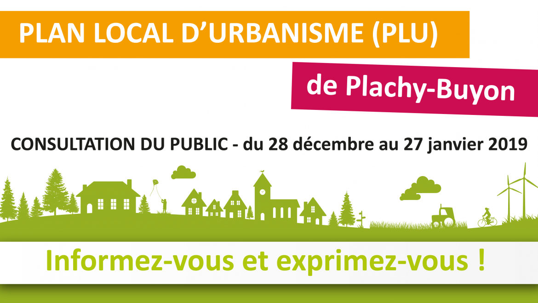 Consultation publique : PLU de Plachy-Buyon