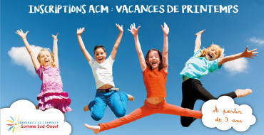 Inscription ACM – Vacances de Printemps