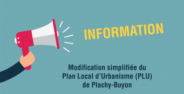 Modification simplifiée du PLU de Plachy-Buyon