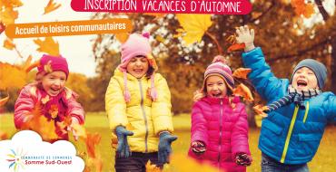 Inscription ACM – Vacances d'Automne