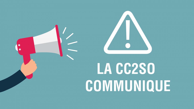 La CC2SO communique