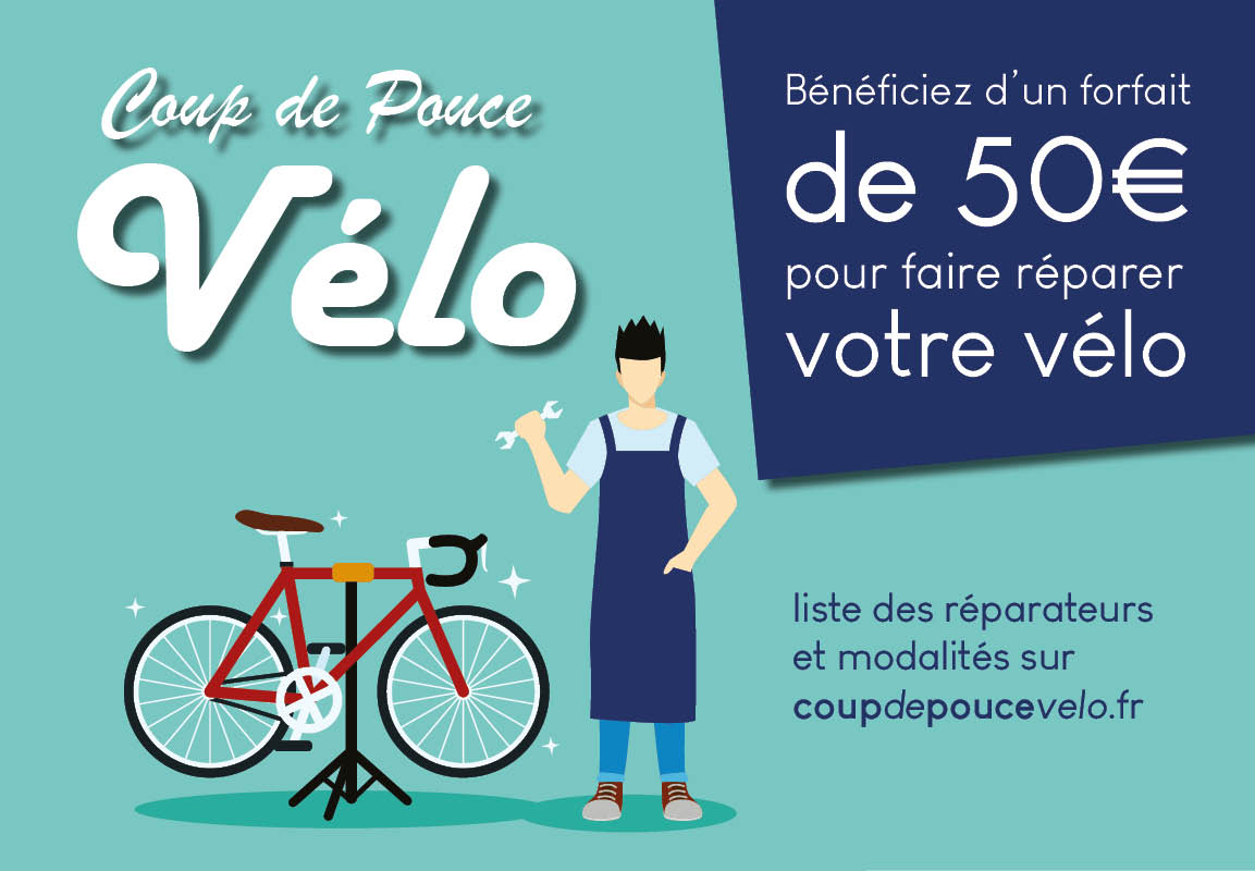Coup de Pouce Vélo – Faites réparer votre vélo
