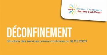 Déconfinement : Situation des services communautaires