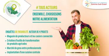 Projet Alimentaire Territorial : 4 études de faisabilité en cours