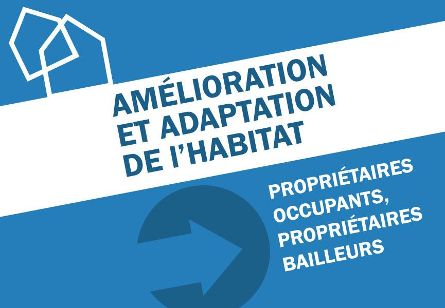 Amélioration et adaptation de l'habitat – Début des permanences le 12 janvier