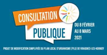 Consultation – Modification du PLU de Vraignes-les-Hornoy