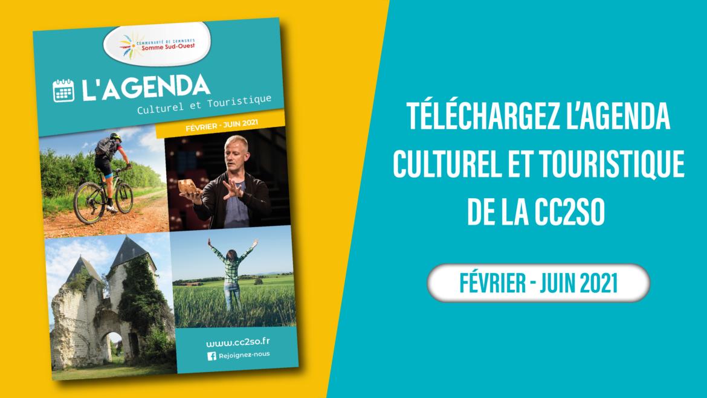 Agenda Culturel et Touristique Février-Juin 2021