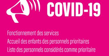 COVID-19 | La CC2SO communique